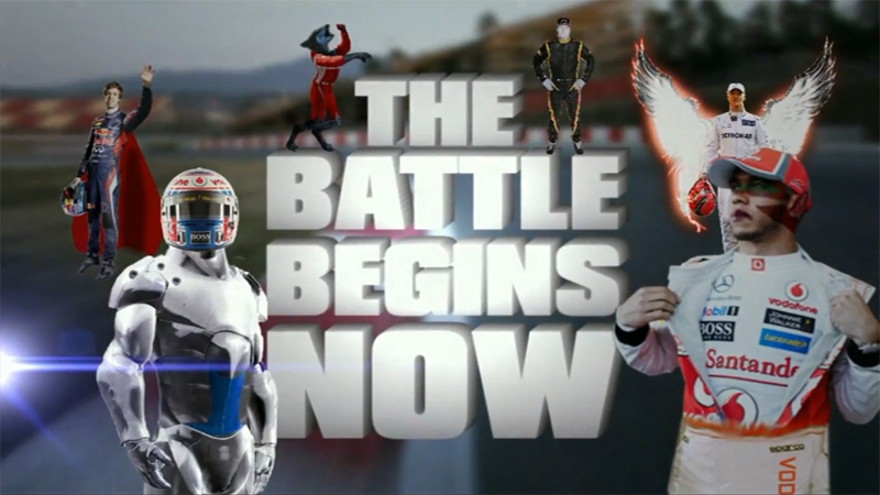 The Battle bedins now - Speed Channel F1 2012 Intro - 6 чемпионов мира