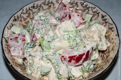 вкусный осенний салат