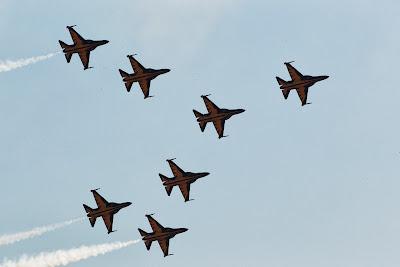 авиашоу Black Eagles на Гран-при Кореи 2013