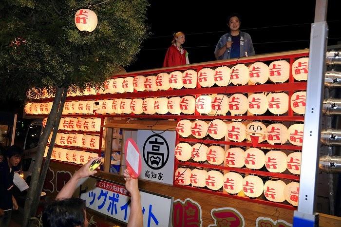 第60回よさこい祭り☆本祭2日目・上町競演場6☆上2目2669
