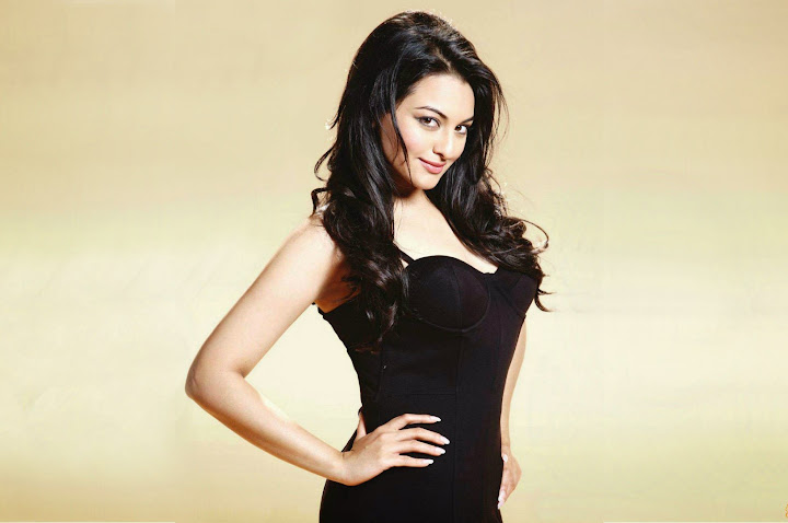 Sonakshi Sinha Latest Photo Shoot Black Dress