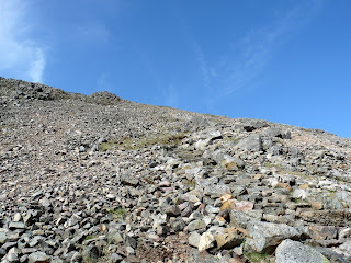 Getting towards the top of Great Gable.