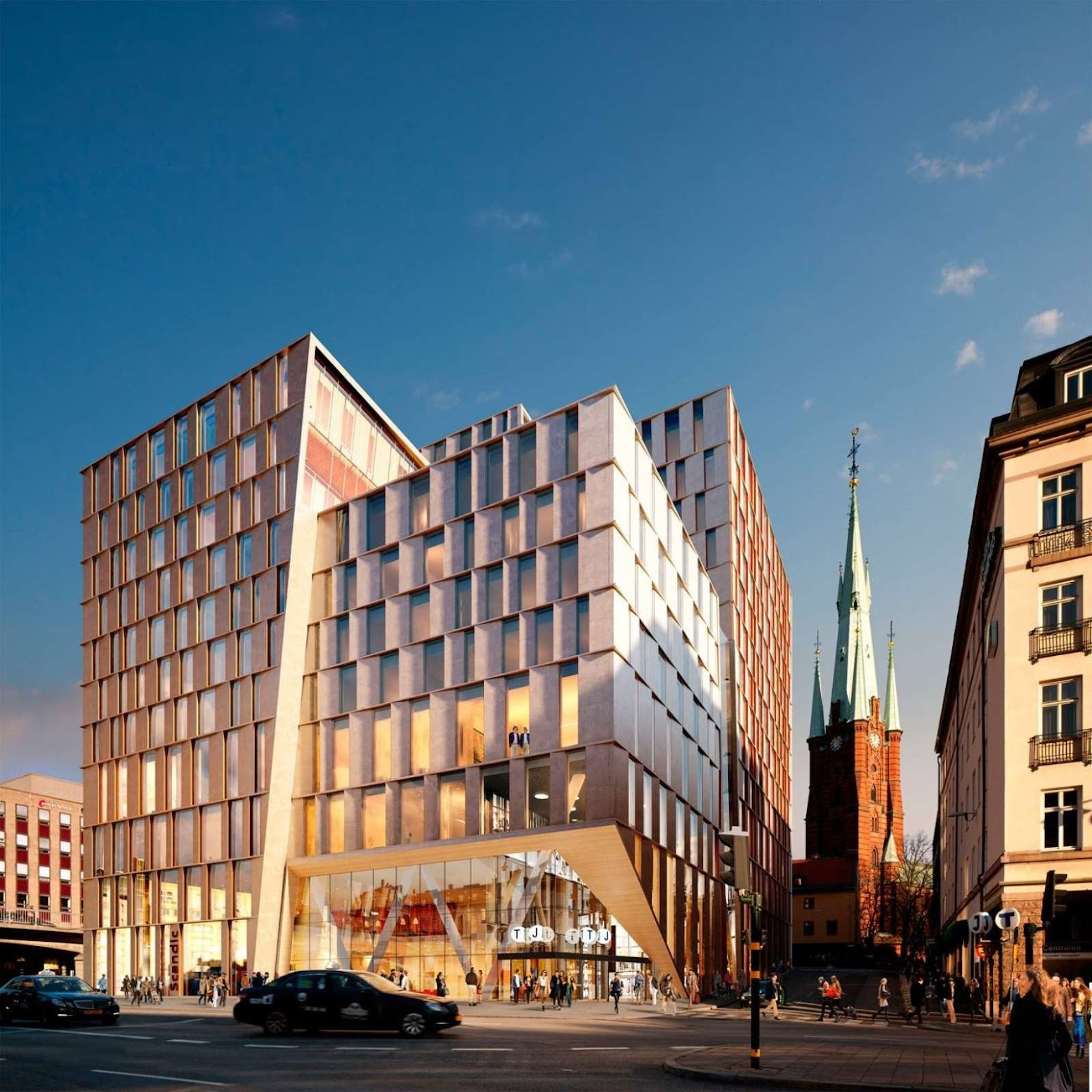 Stoccolma, Svezia: [STATION CITY STOCKHOLM BY 3XN]