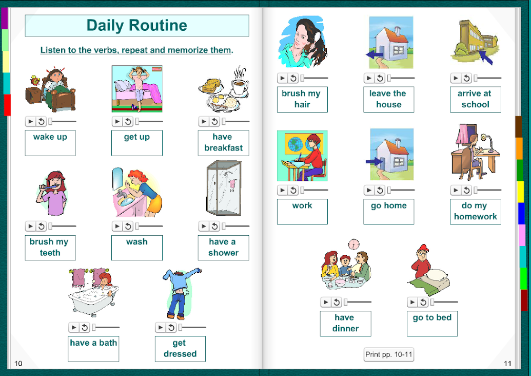 essays students daily routine Daily routines set) and shout out the verb (eg eat dinner) get everyone to come up together, pick up an object and drop it in wwweslkidstuffcom | lesson plans.