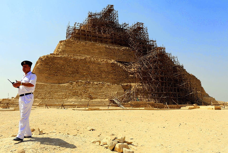 UNESCO seeks answers from Egypt on 'damaged' pyramid