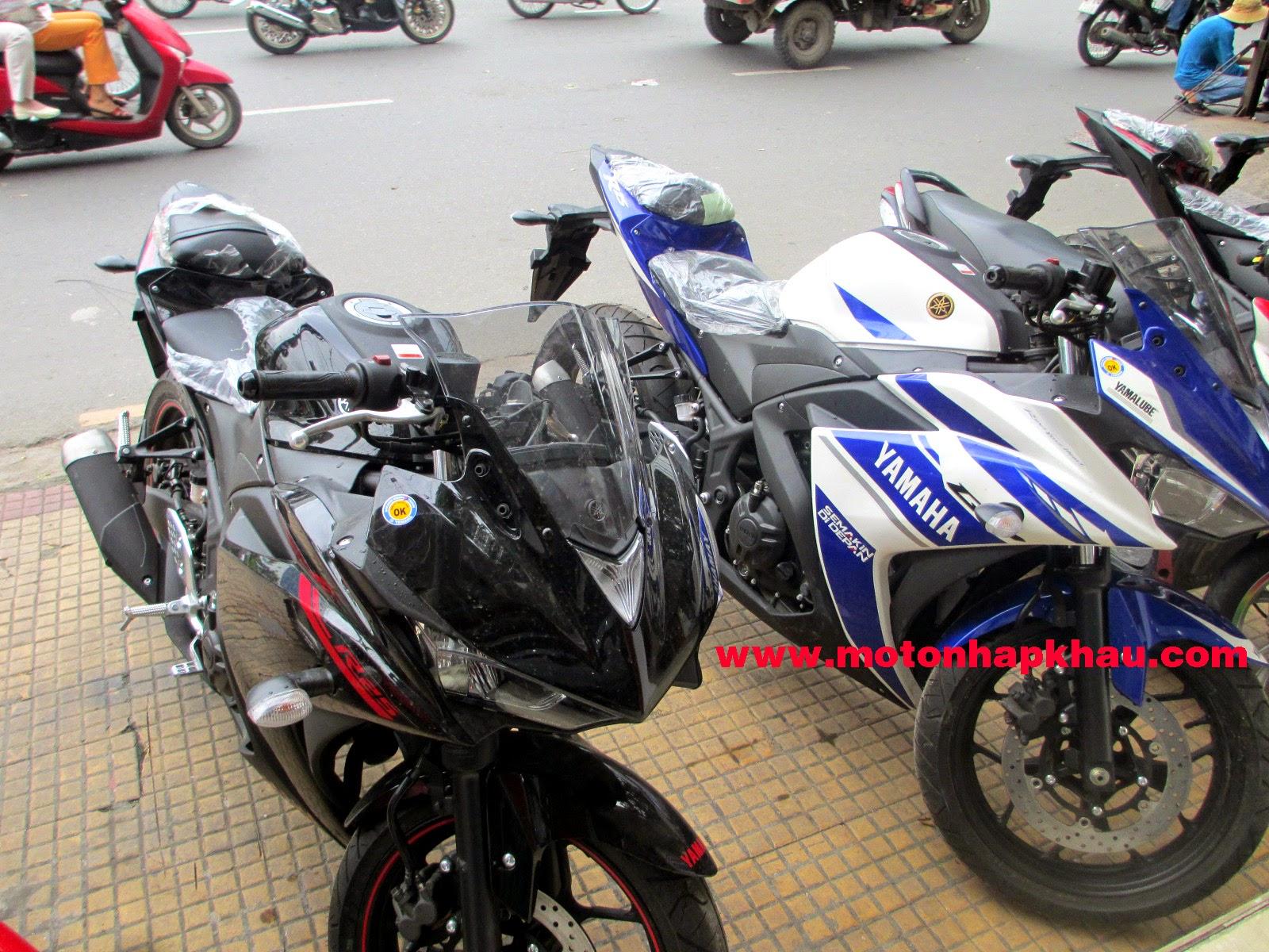 Yamaha R25 Tai Viet Nam