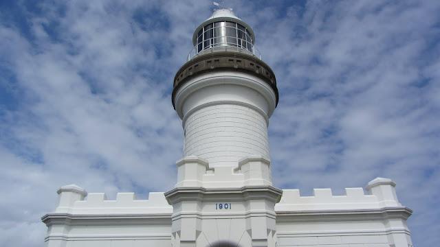 The Cape Byron Lighthouse.