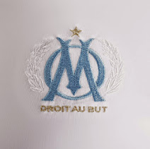 Marseille home shirt logo 2014