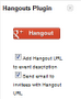 Hangouts Plugin for Google Calendar