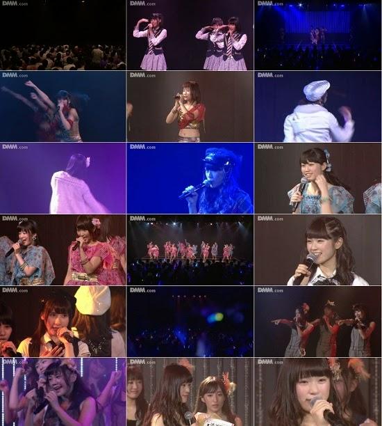 """(LIVE)(公演) NMB48 チームBII """"逆上がり"""" 渋谷凪咲の生誕祭 140825"""