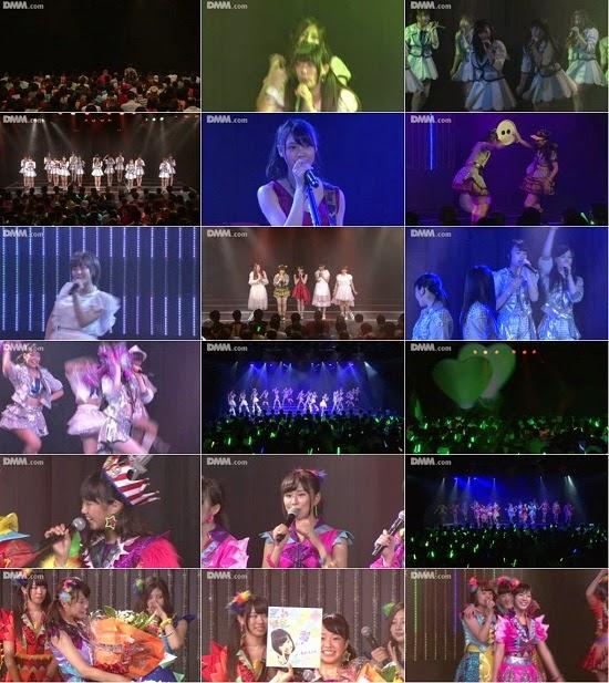 "(LIVE)(公演) NMB48 チームN ""ここにだって天使はいる"" 加藤夕夏の生誕祭 140822"