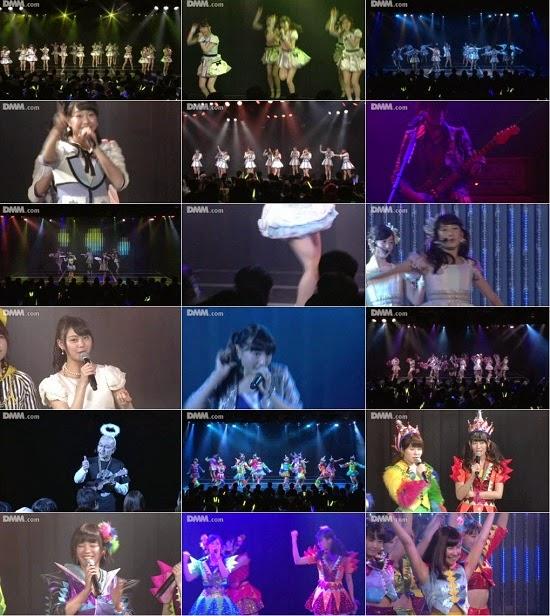 """(LIVE)(公演) NMB48 チームN """"ここにだって天使はいる"""" 公演 141226 & 141227"""