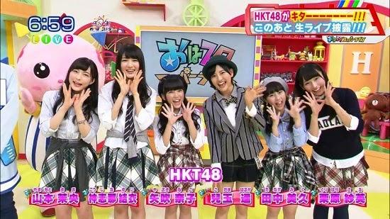 (TV-Variety)(720p) HKT48 – おはスタ 140923