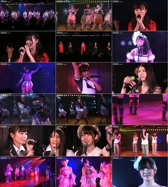 """(LIVE)(公演) AKB48 チーム4 """"アイドルの夜明け"""" 佐藤妃星の生誕祭 140821"""