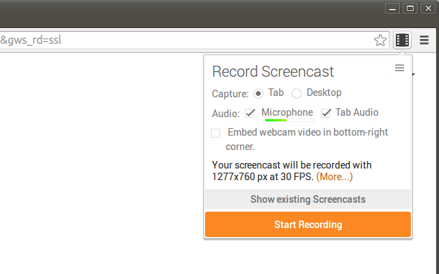 Screencastify (Screen Video Recorder) Screenshot