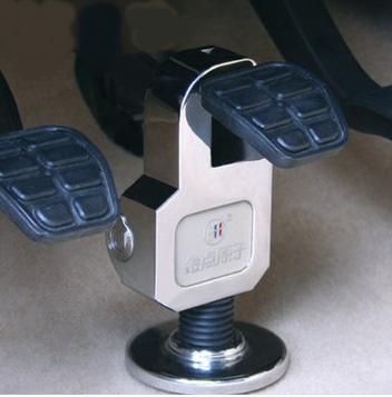 Механическая блокировка педалей автомобиля своими руками 6