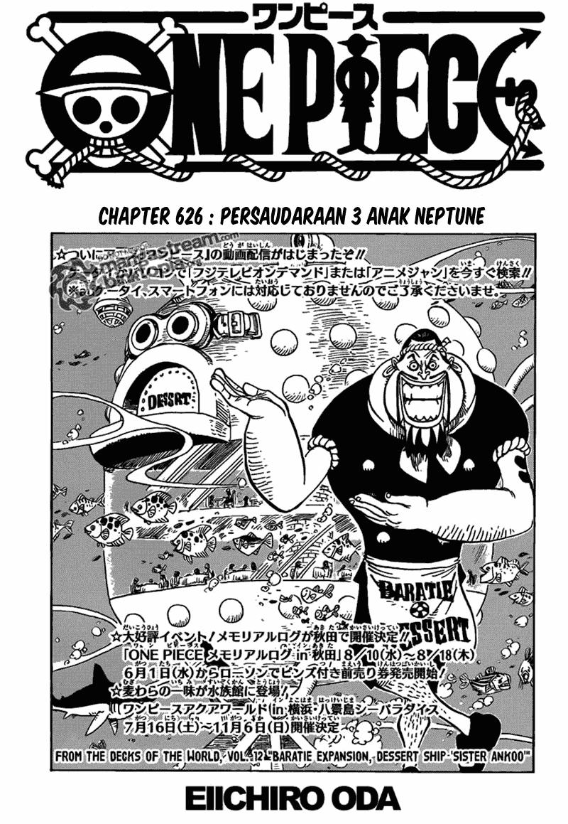 02 One Piece 626   Persaudaraan 3 Anak Neptune
