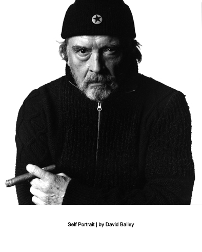 David Bailey | The 60s have never ended | Self Portrait | designer fashion blog |  Warmenhoven & Venderbos