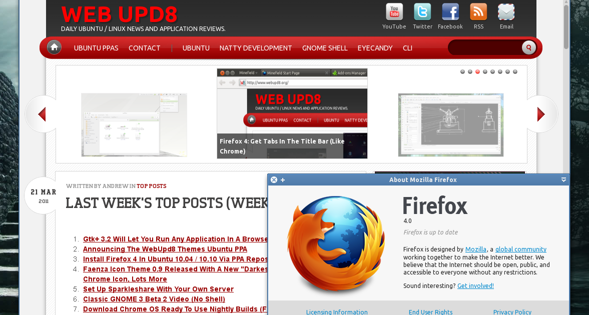 Mozilla Firefox 3 - Free Download