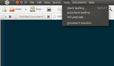 Ubuntu 11.04 appmenu