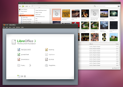 Banshee LibreOffice Ubuntu 11.04