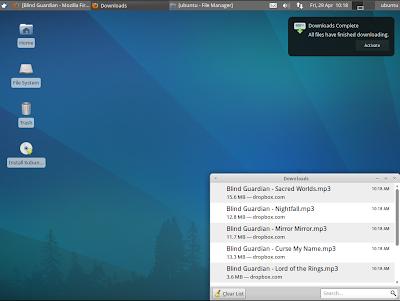 Firefox Notifications Xubuntu
