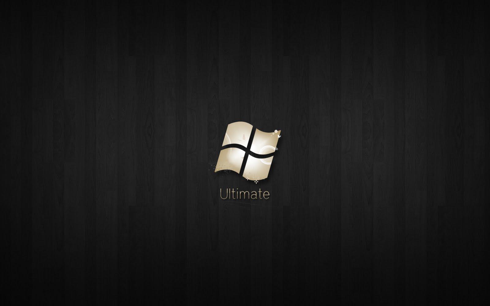 Windows 7 Ultimate Black Edition