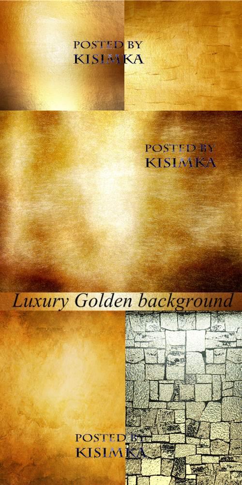 Stock Photo: Luxury Golden background
