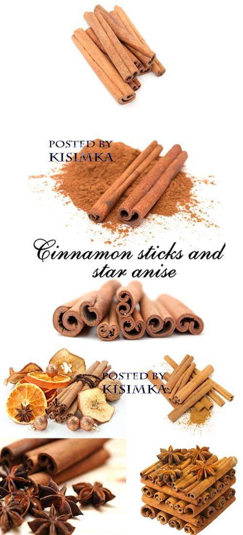 Stock Photo: Cinnamon sticks and star anise