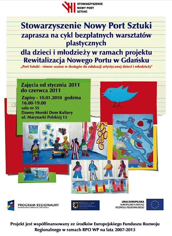Plakat - Warsztaty styczeń-czerwiec 2011