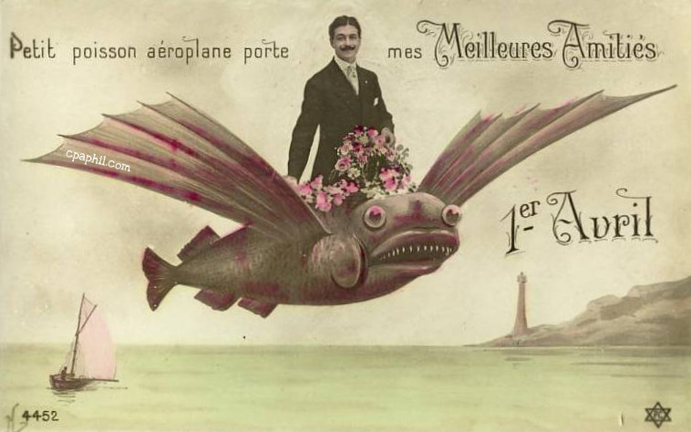 Poisson D'Avril - April Fool's in France