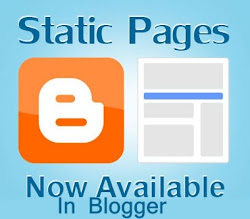 how to add static page in blogger