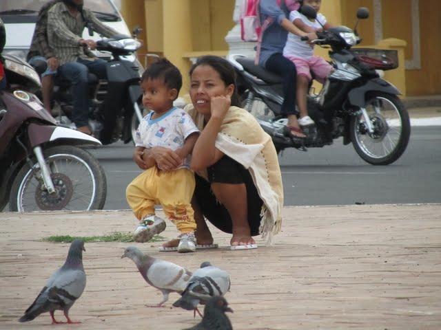 Phnom Penh Cambodia riverfront