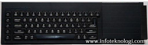 Keyboard Sinclair komputer