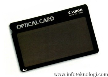 Canon Optical Card