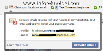 Tutorial membuat email @facebook.com