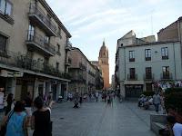 Muchos de los edificios más conocidos de Salamanca están concentrados en los aledaños de la Plaza Mayor