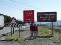 A 1511 metros de altura, separa las provincias de Madrid y Segovia