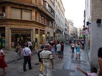 Calles del centro de Salamanca, camino de la Plaza Mayor