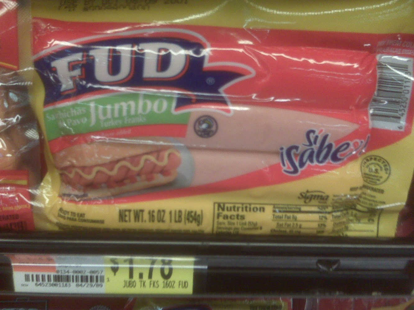 "Where I'm from, FUD stands for ""Fear, Uncertainty, and Doubt."" And I have plenty of FUD regarding what this is made of..."