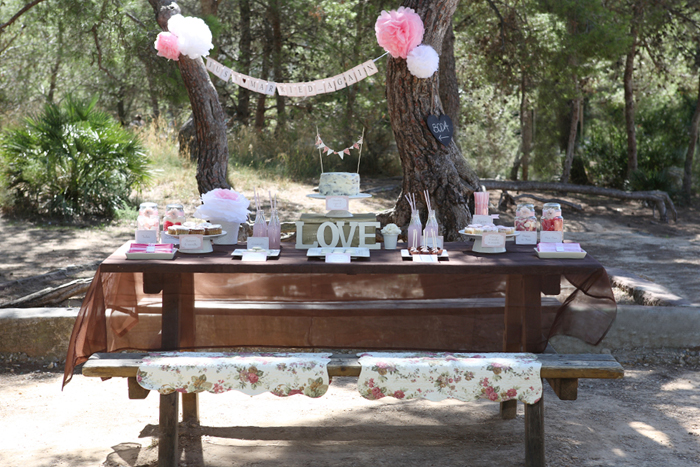 Love Picnic Dessert Table