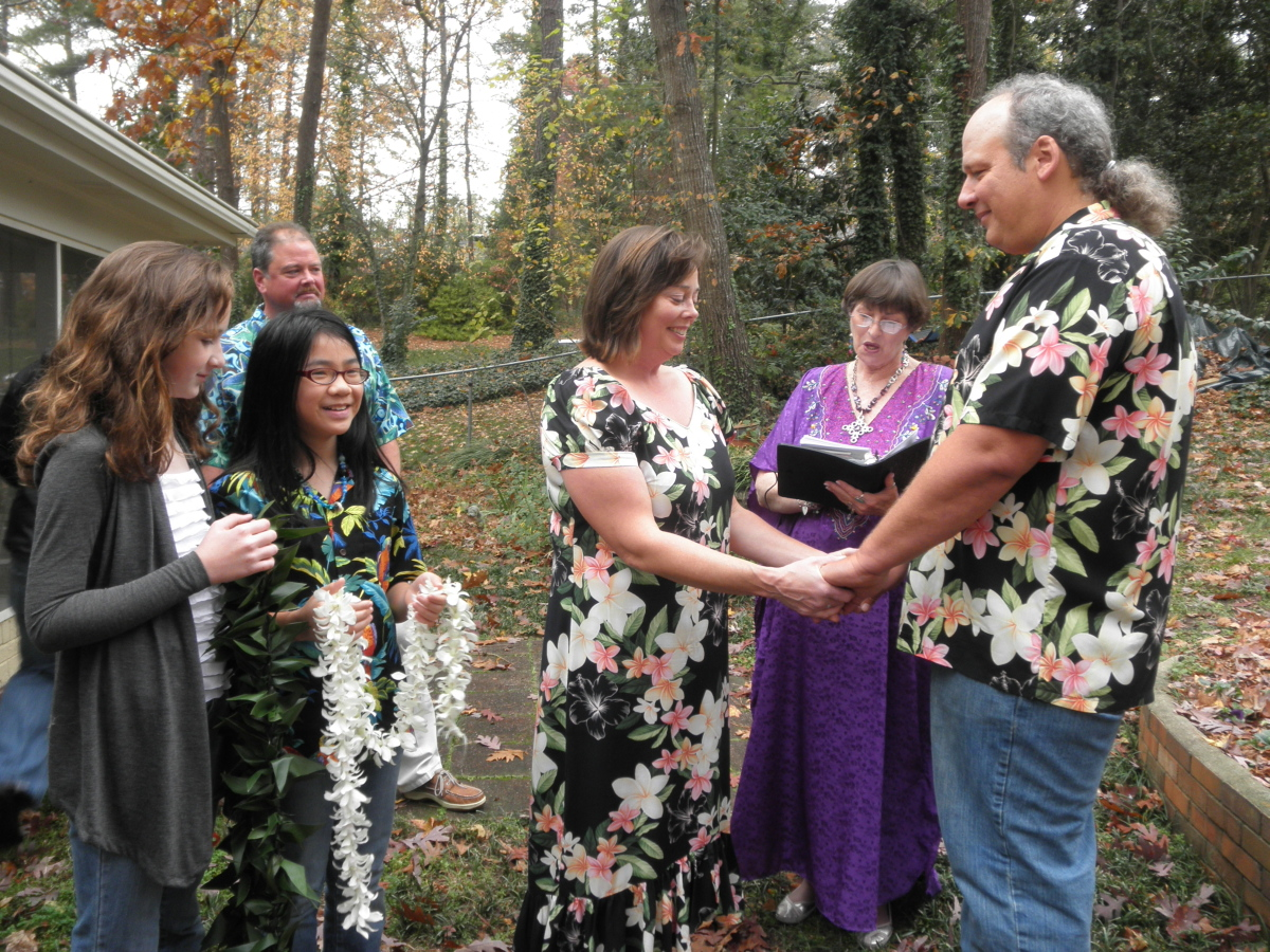 ideas backyard wedding