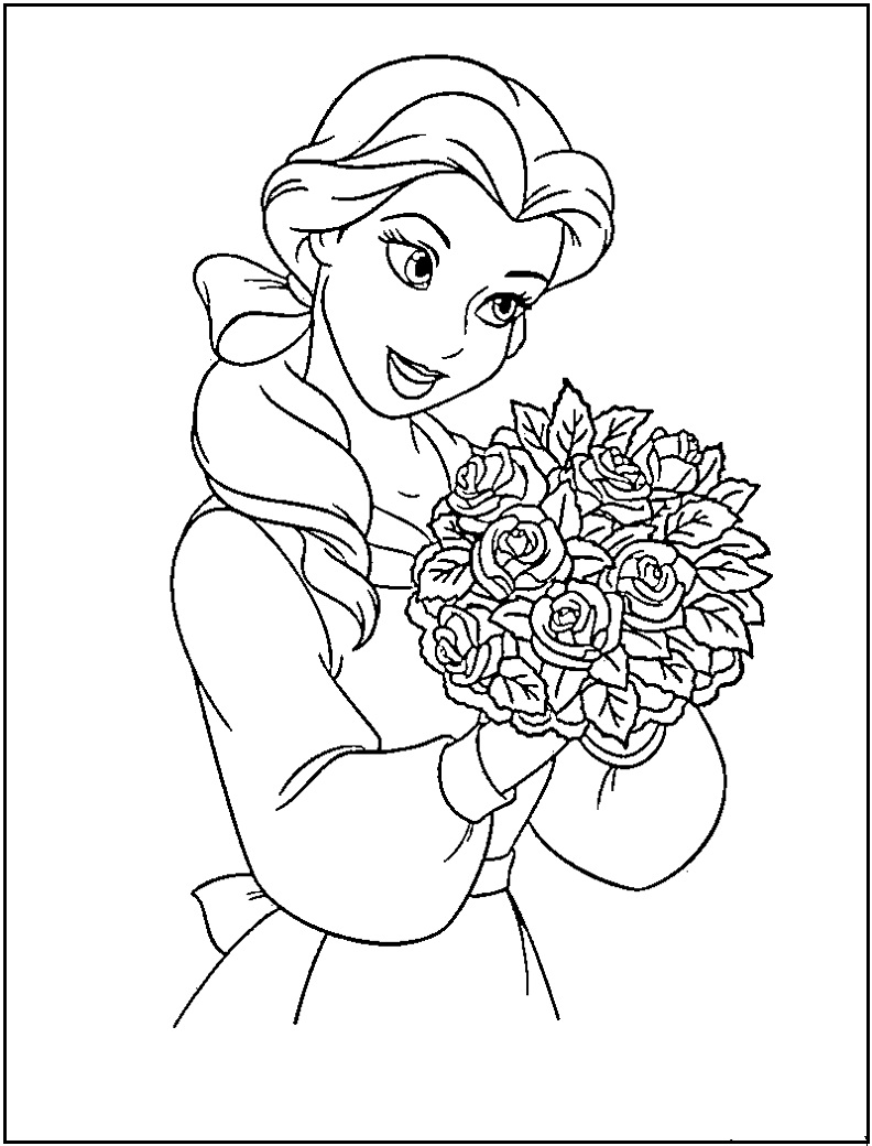 princess coloring pages printable free - Free Disney Coloring Pages Online For Kids