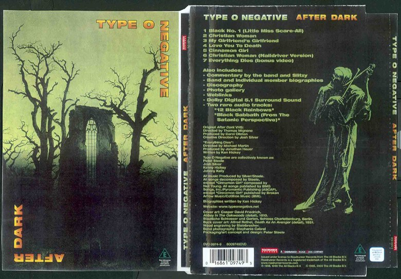 Type O Negative - 1998 - After Dark