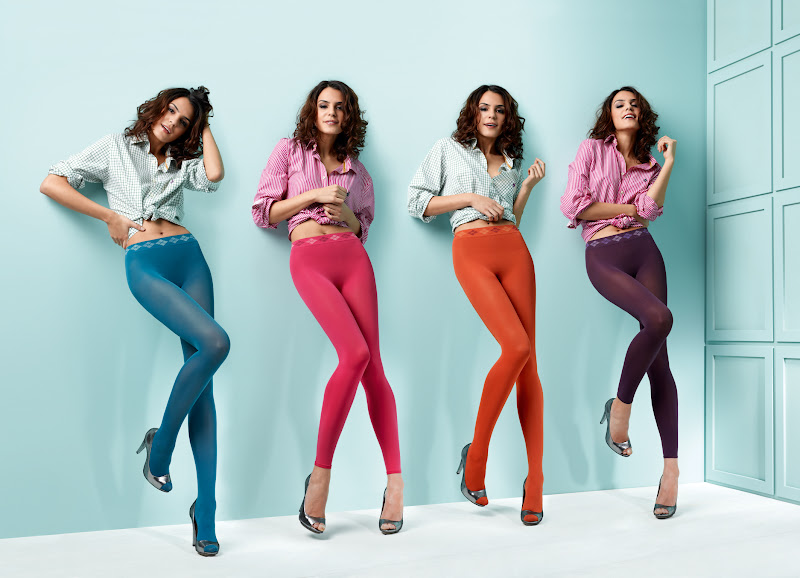 Burlington Legwear Collection, primavera verano 2011