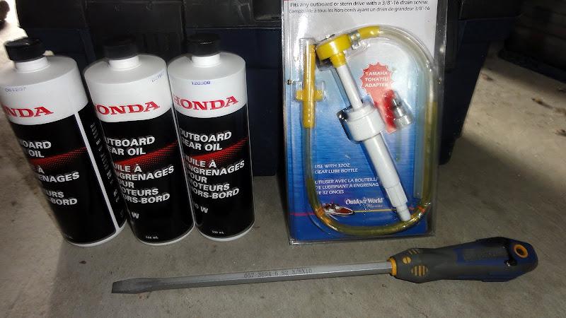 honda 20 лодочный мотор замена масла