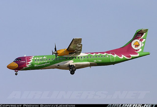 most colorful plane in the world