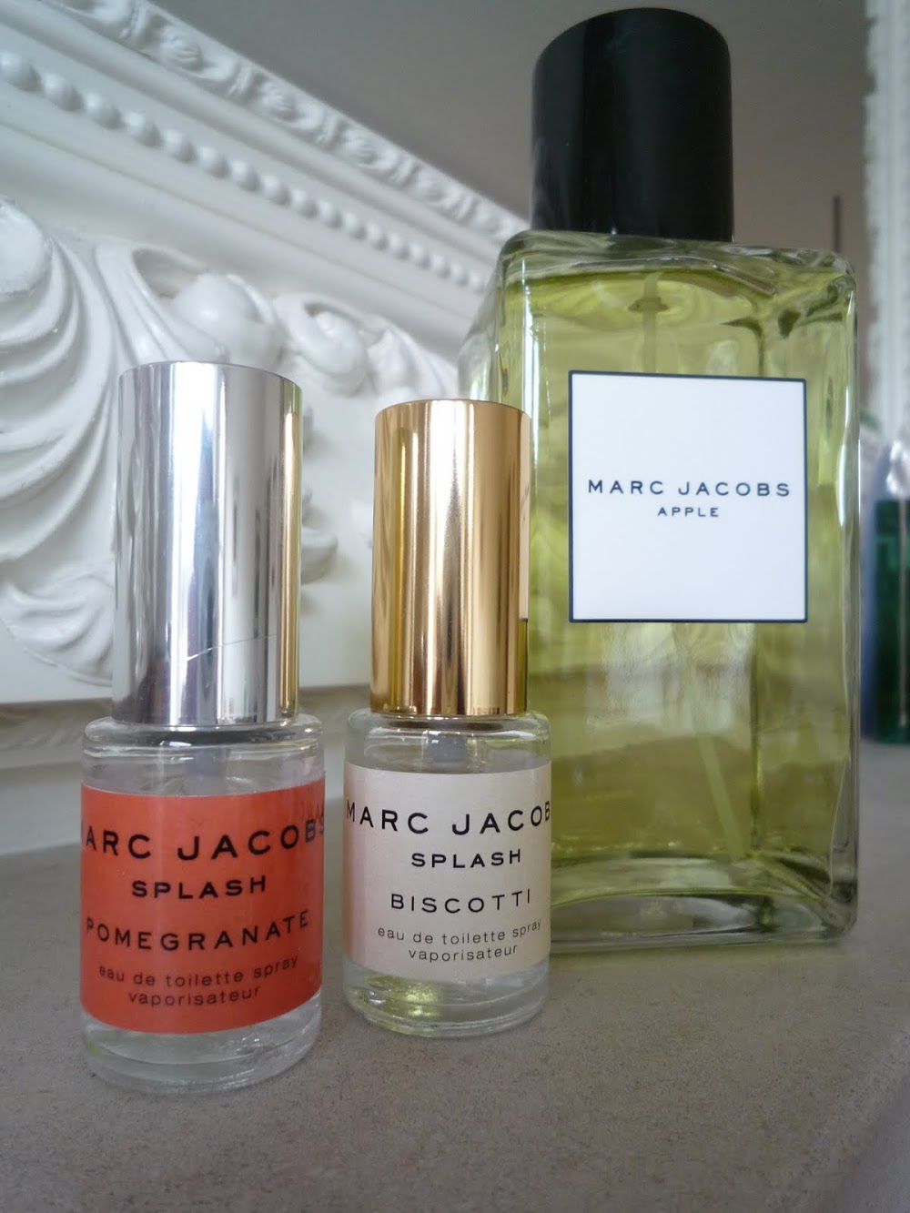 Marc Jacobs Splash Patisserie Collection [Apple, Pomegranate and Biscotti]