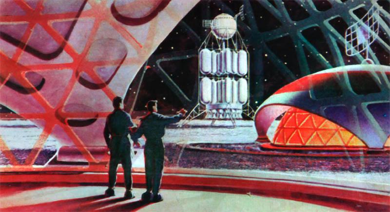 Dark Roasted Blend: Retro Future: Space Art Update