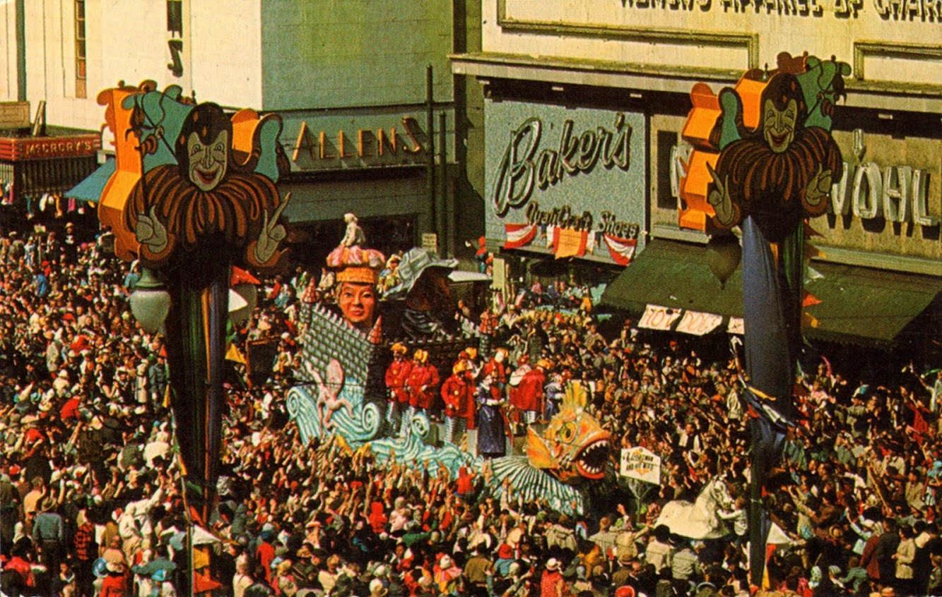 Mardi Gras Parade Float